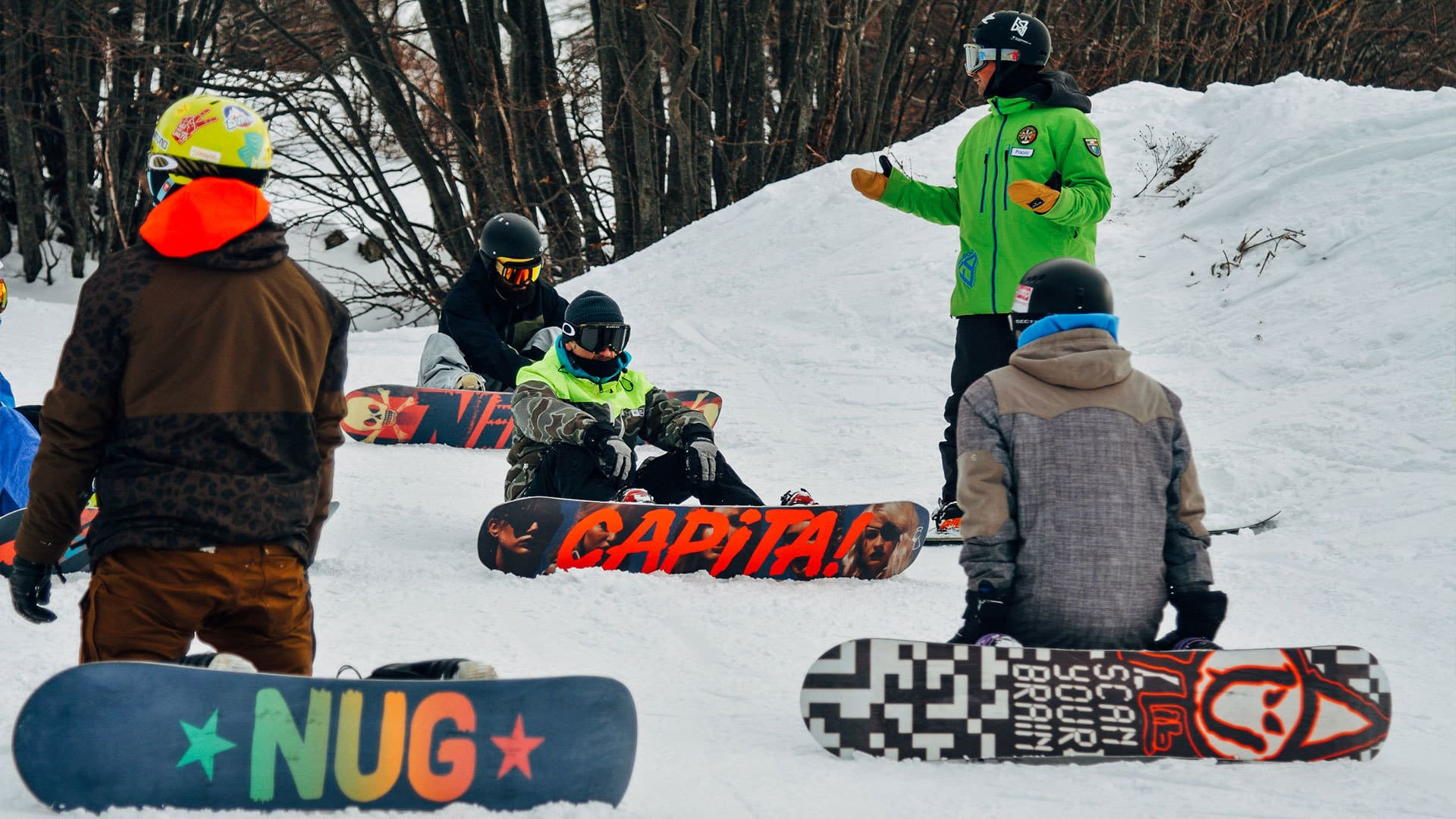 Feelgood Snowboard camps